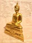 Thai Buddha Statue Luang Pho Pan Wat Gernkathin Tempelguss
