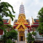 Vergoldetes Buddha Thai-Amulett König Bhumibol von 1988