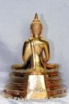Luang Pho Sothon Thai Buddha Statue aus Thai-Tempel