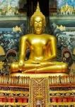 Buddha Amulett für Mittwochs geboren. ORIGINAL Wat Rai Khing