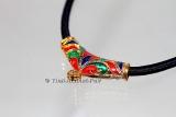 Damen Thai Amulett Kordel Gold Mikron Sukhothai Style