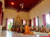 Buddha Glücksarmband Rosa mit Takrut für Dienstags