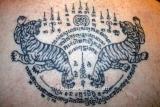 Ajahn Kom Liebes Thai Amulett Hand signiertes Unikat