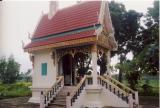Süsswasser Perlen Thai Amulett Kette - geweiht