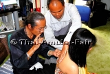 Schutz Thai Amulett Takrut Maharat Sanee von Ajahn Kom
