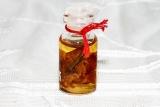 Ajahn Kom Thai Amulett Nam Man Sanee Charming Öl