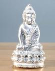 Silber Phra Gring Buddha Thai Amulett aus dem Wat Suthat