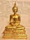 Thai Buddha Statue Luang Pho Pan from Wat Gernkathin