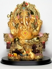 Phra Sangkachai Glücksbuddha (Hochrote Jade) Thai Amulett