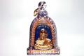 Blaues Rakhang Thai Amulett von Luang Pho Mettavihari