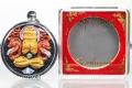 Phra Pidta Thai Amulett von 12 Mönchen 3x geweiht 19.02.2007
