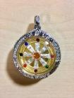 Dharma Rad Thai Amulett für Montag Geborene 12x geweiht