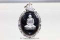 Thai Amulett Charoen Porn Nuea Nawa mit Silber Maßfassung