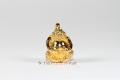 Vergoldetes Rahoo Om Dschan Schutz Thai Amulett