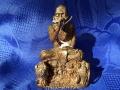 Luang Phu Galong Statue Nang Mhoo Seriennr. 463 von 999