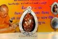 Thai Amulett in SILBER Massfassung von Luang Pho Pian