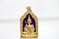 Khun Paen Thai Amulett Um Gai Um Guman Thong Blau