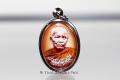 Logget Luang Ta Maha Bua Thai Amulett Ruun Srang Viharn