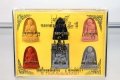 Thai Amulett Set die 6 grossen Mönche Miniserie 999 Sets