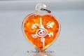 Ajahn Kom Thai Amulett Dok Rak Maha Sanee handsigniert