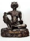 Original Luang Pho Pern Statue Lersi Hua Suea vom 14.03.2002