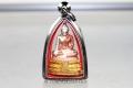 Buddha Thai Amulett Luang Pho Wat Rai Khing Sam Kasat aus dem WatRai Khing Nakhon Pathom