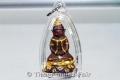 Teilvergoldetes Pho Nagng Taa Daeng Thai Amulett von Luang Phu Naen