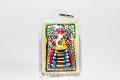 Luang Pho Koon Buddha Amulett mit 19 Gold Takruts in Maßfassung - Sehr Selten