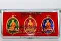 Vergoldetes Amulett Set Luang Phu Chan Hoom S/N: 132
